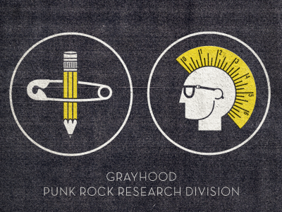 Punk Research Icons punk grayhood icons punk rock research division