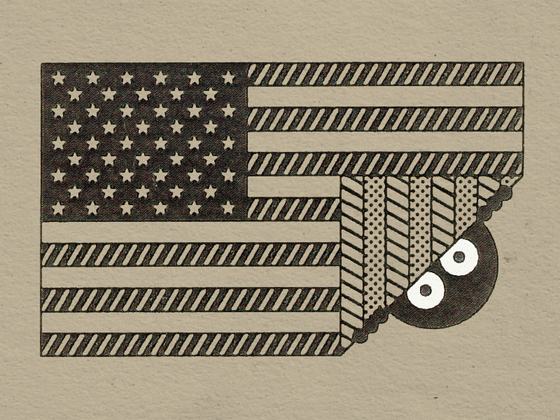 America america sneaky stripes stars flag