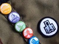 Field trip pins