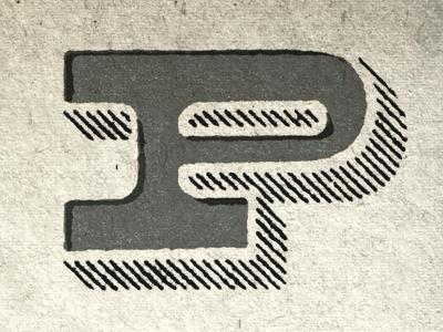 P Typefight p philly type fight type design