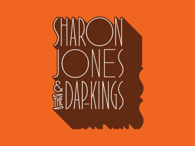 Sharon Jones & The Dap-Kings Lettering