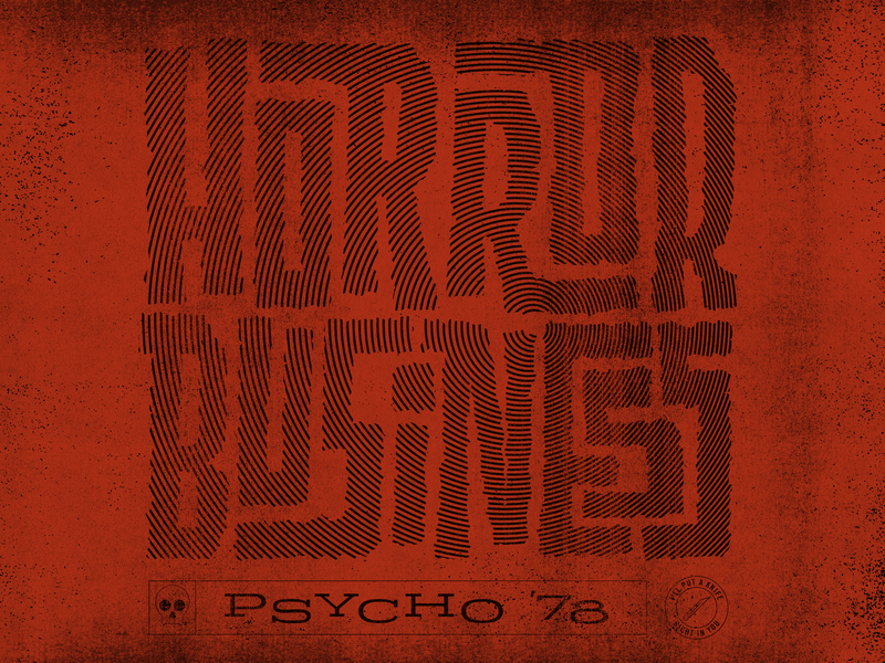 Horror Business halloween misfits punk type