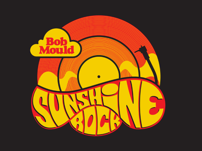 Bob Mould Tee Shirt music tee shirt illustration type lettering