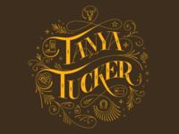 Tanya Tucker Lettering