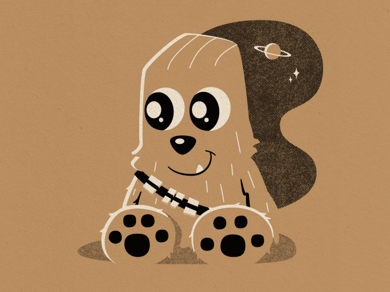 Chewbacca popularmechanics chewbacca starwars illustration