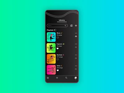 Simple Music UX App | Part 5 branding web music app figmadesign spotify simple website ux ui design
