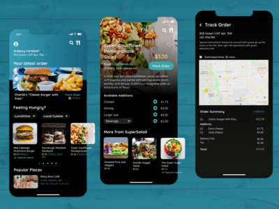 Feeling Hungry? Food order app concept