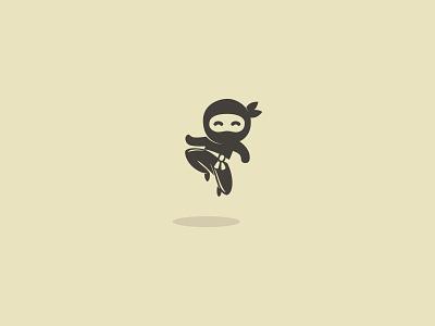 ninja 01 illustration illustrator minimal logo icon design vector graphic design art