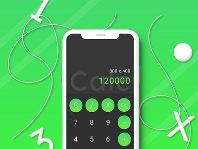 004 - Calculator calculator neumorphism neumorphic neumorphism ui app design ui design ux dailyuichallenge dailyui daily 100 challenge