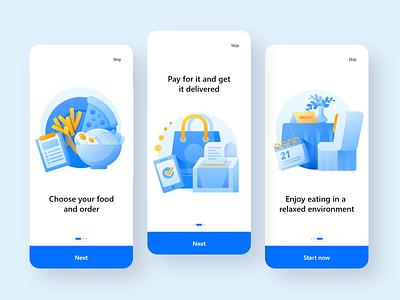 Food application design dribbble uiux uxdesigner uidesigner uxdesign uidesign ux ui logo app app design branding vector minimal design illustration