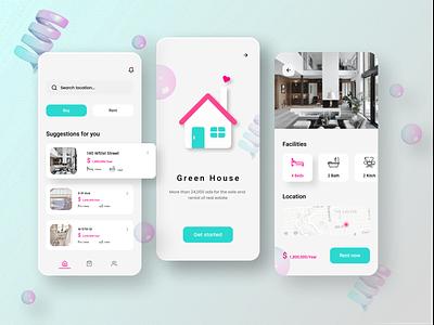 Find Home adobe xd figma flat 3d app design branding logo illustration ui design ui uxdesign app design minimal ux