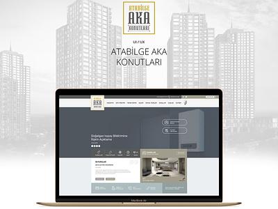 Atabilge Aka Hauses - Corporate Web Design figma development css build responsive logo design frontend development web ux ui