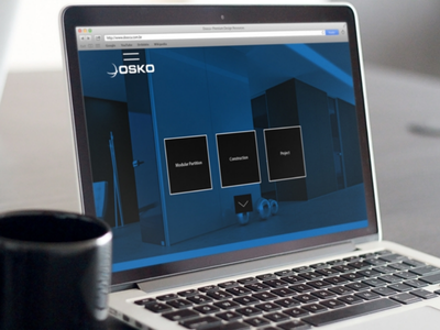 Osko Aluminum ui design uxdesign typography branding js design html figma development css responsive frontend development web ux ui