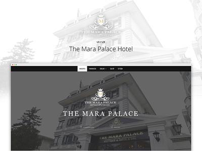 The Mara Place Hotel js html figma development css responsive frontend development web ux ui hotel