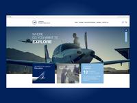Lufthansa European Flight School Ui