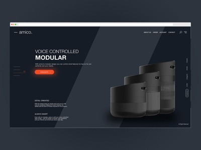 -amico. Lamp Ui Design