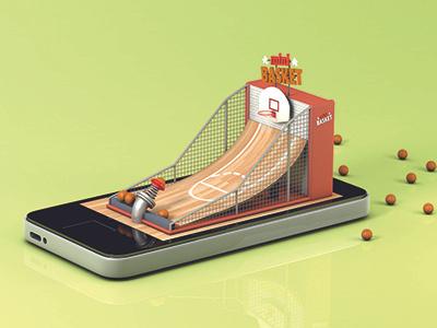 Funfair on phone #1 basket phone funfair