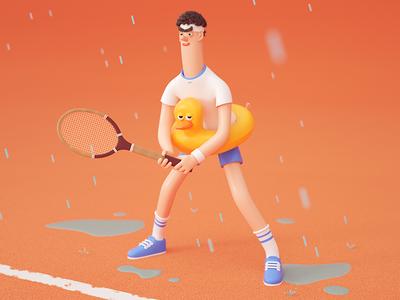 Tennisman - Roland Garros