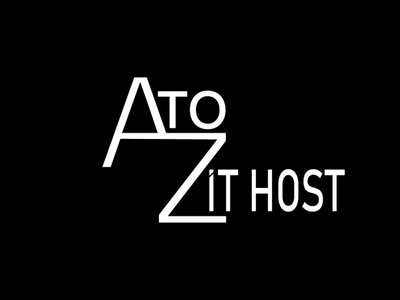 a to z logo for clint branding vector minimal lettermark illustration adobe illustrator wordmark logo typography logodesign