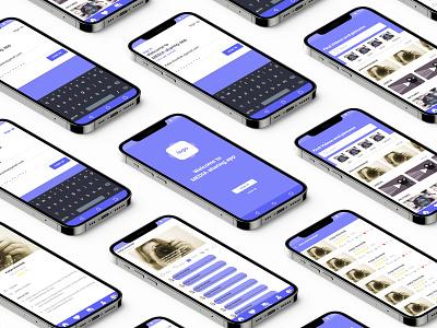 videos sharing app ui design prototype uxdesign uidesign uiux ux ui