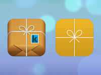 iOS 7 icon redesign - Katapakote