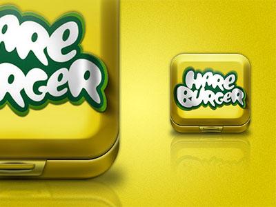 Hareburger Box Icon