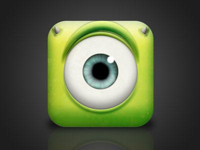 Monster, Inc. iOS Icon