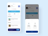 Cruise Profile events feedbak booking user profile cruise ship ship cruise design app  design ui mobile app