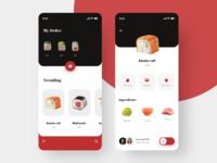 Sushi UI Concept