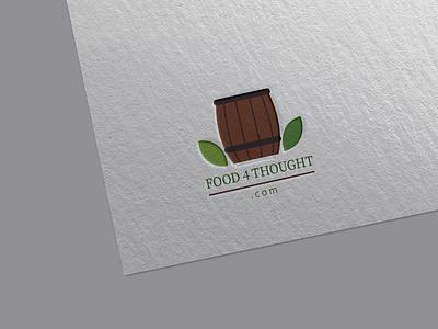 Wine and Food logo typography design flat food logo logo restaurant logo beverages logo drink logo wine logo