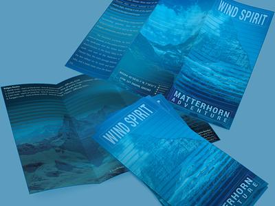 Matterhorn Flyer trifold brochure