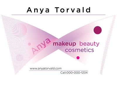 Makeup Flyer branding
