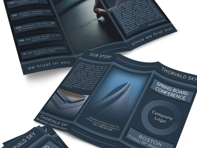 Trifold design trifold brochure