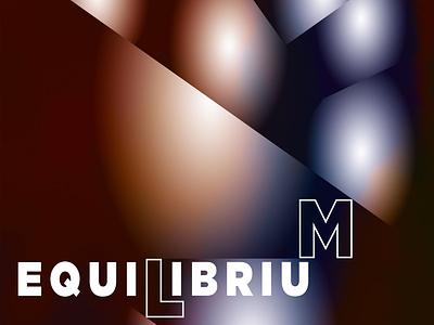 Equilibrium illustration abstract design