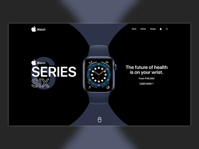 Apple Watch Website Concept minimal web ui website concept website design website apple watch watch apple