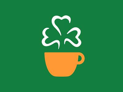 Top o' the Mornin' to Ya! coffee mug coffee cup national irish coffee day mug cup irish orange white green coffee steam shamrock