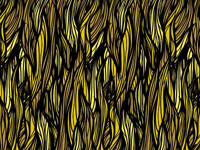 Hair Pattern pattern hair lines black brown gold yellow