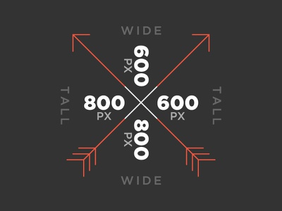 Hipster Measurement height width tall wide arrows arrow hipster gotham white gray orange