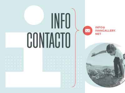 Web Design - visual composition for Contact