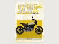 Poster Scrambler Ducati Icon