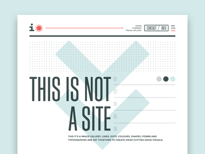 ivangallery - home web design website arrows page ux ui typography home web