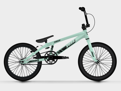 Yess BMX Frame Graphics cycling illustration vehicle sticker sport wheels bmx bike bicycle vector
