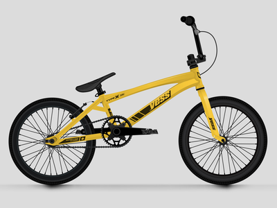 Yess Type X Frame Graphics wheels vehicle product decal sticker racing ride sport cycling bmx bike bicycle