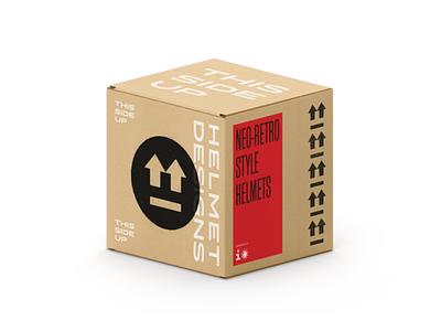 This Side Up Box bike helmet motorbike bike helmet cardboard box package pack packaging
