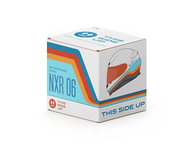 This Side Up Box for Shoei NXR bike helmet motorbike bike helmet cardboard racing box package pack packaging