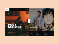 Artists Main Page