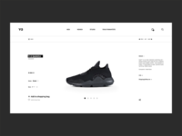 Adidas Y-3 Product Page