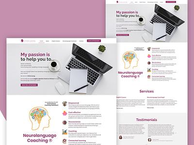 Vivien leung web design web website design branding ui website wordpress portfolio website