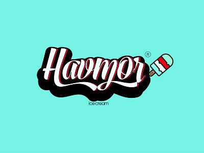 Havmor ice cream illustrator illustration icon design graphic design branding design branding brand identity brand design adobephotoshop adobeillustator
