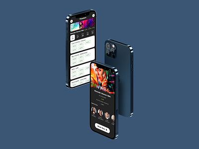 Movie booking app uxui design uxui ui uiux dribbble mobile app app design ui design movies movie app uxuidesign uxdesign uidesign